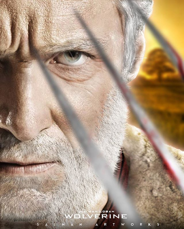 Hugh Jackman as Wolverine Old Man Logan. :) Can't believe this would be his last... :/