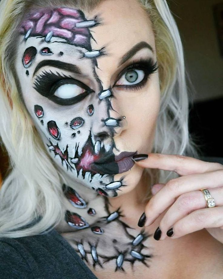 Best 20+ Zombie Halloween Makeup Ideas On Pinterest | Diy Zombie Makeup Zombie Makeup Easy And ...