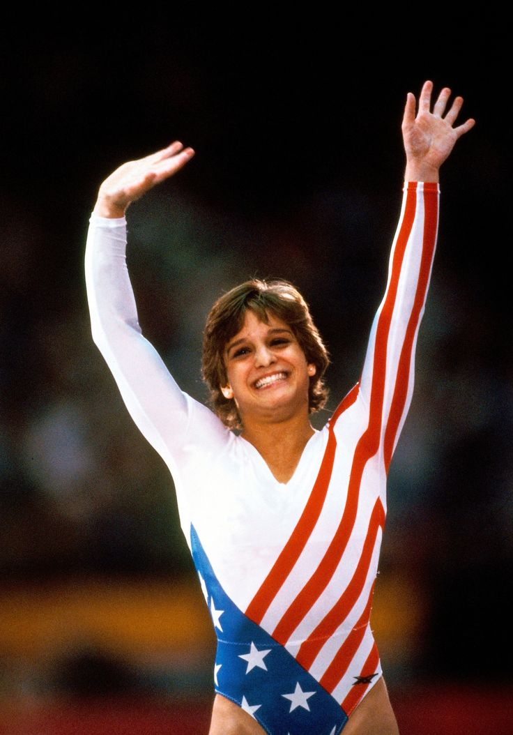 Mary Lou Retton (by Neil Leifer) [gymnastics]