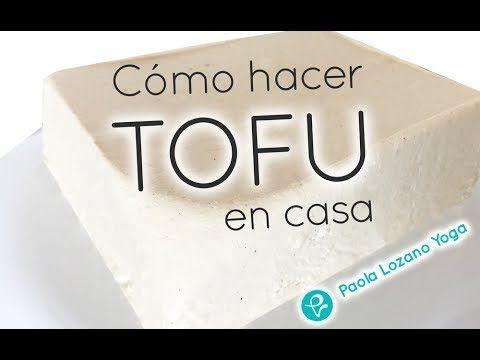 Como hacer tofu  - Queso Vegano o queso de soja - YouTube