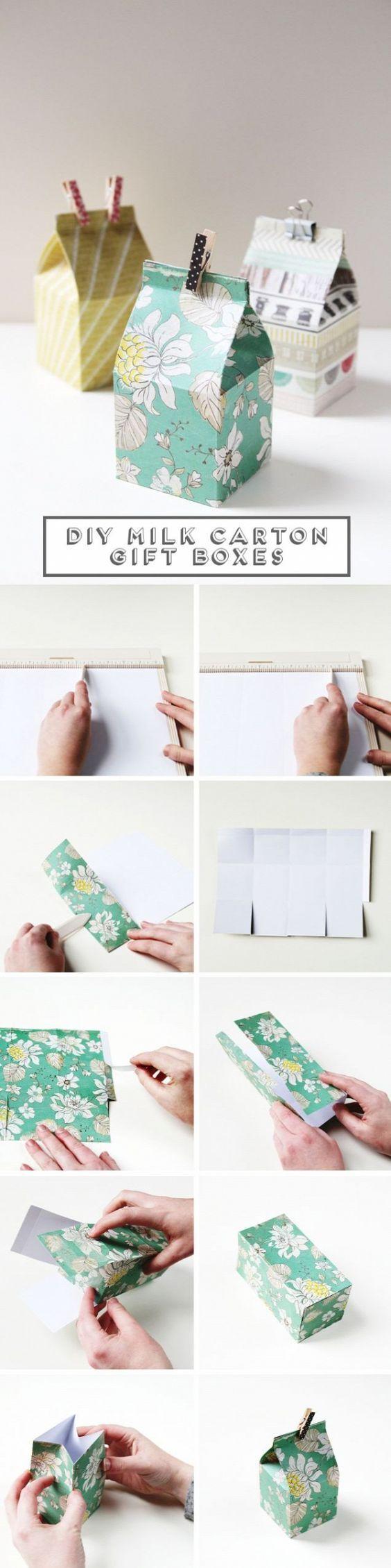 15 DIY Tutorials für die Herstellung der Geschenk Wrappers - Pretty Designs