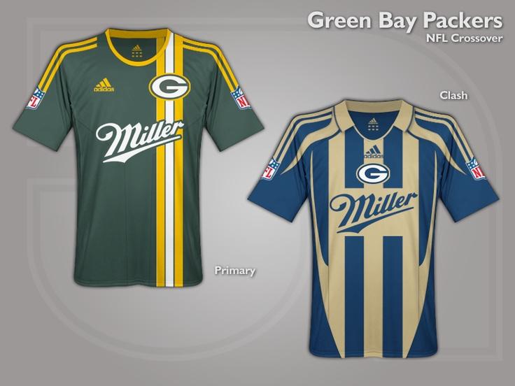 NFL Brasil: Se as camisas da NFL fossem igual do futebol...