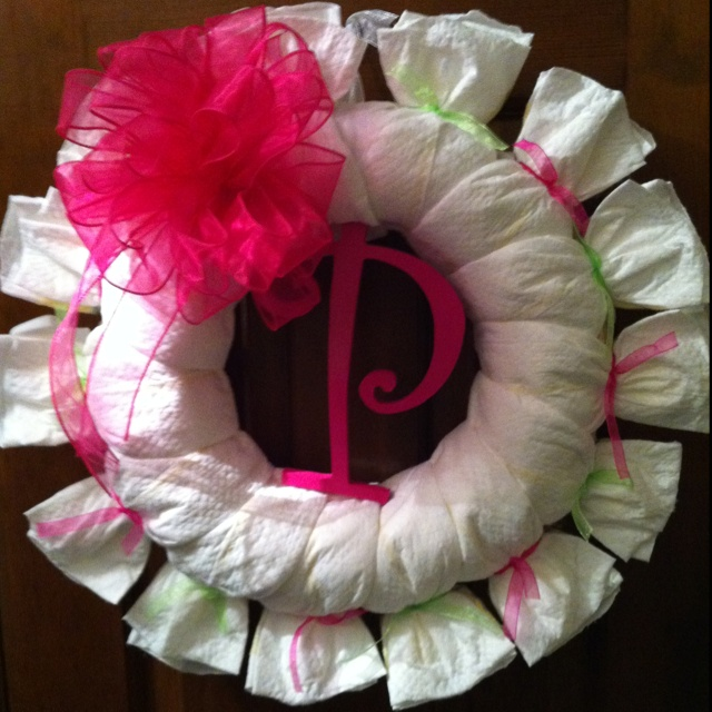 Baby Shower Wreath Instructions: 1000+ Images About Diaper Cakes On Pinterest