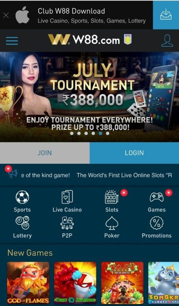 W88 App Download For Mobile Iphone Ios Android Apk Download App Android Apk Casino Slot Games