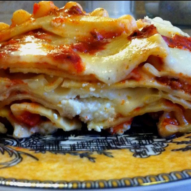 My homemade lasagna!
