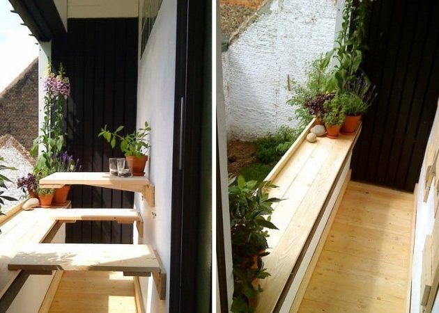 6 способов сделать маленький балкон самым любимым местом в квартире - Лайфхакер