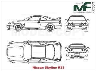 The 236 best nissan blueprints images on pinterest nissan skyline r33 blueprints ai cdr cdw dwg dxf malvernweather Image collections
