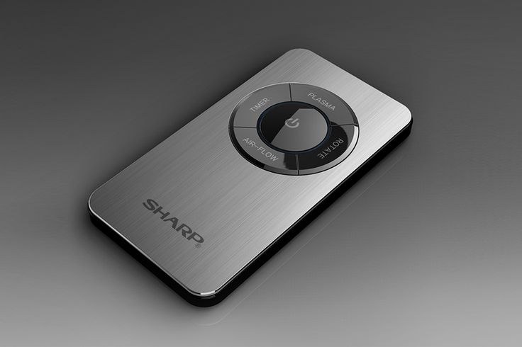 sharp fan remote control . Design by BDCI (www.bdci.co.kr)