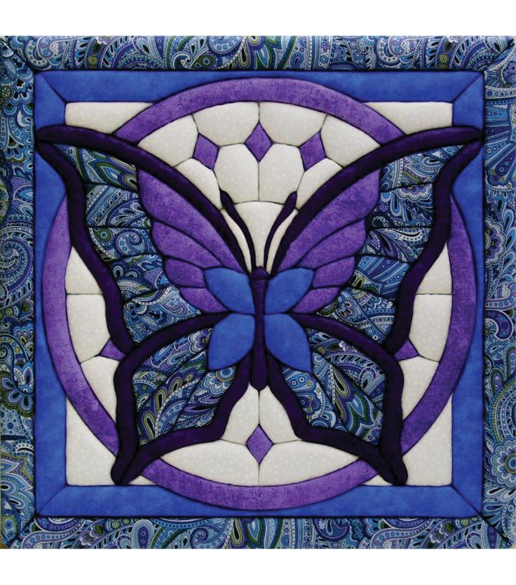"Butterfly Quilt Magic Kit-12""X12""Butterfly Quilt Magic Kit-12""X12"","
