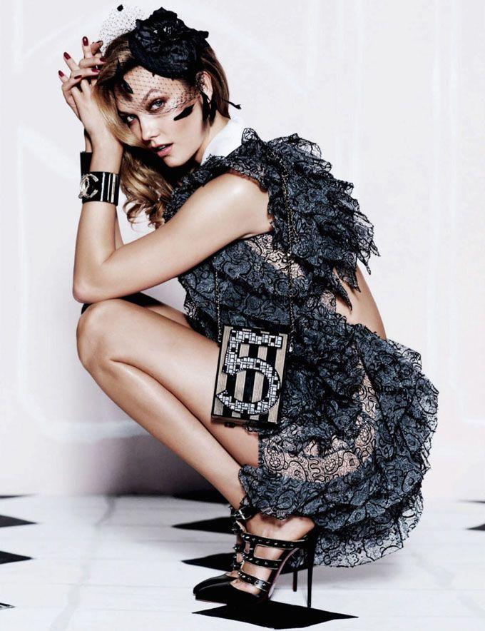 Карли Клосс в Vogue Mexico (Интернет-журнал ETODAY)