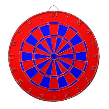 Red and blue dart board for just a common looks. You can change the blue color by changing the background color to a color of you choice. #two-color #two-color-dart-board #common-dart-board #yellow-red #yellow #blue blue-red-dart-board
