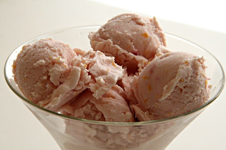 Gojee - No-Churn Blood Orange Dreamsicle Ice Cream by Shockingly Delicious