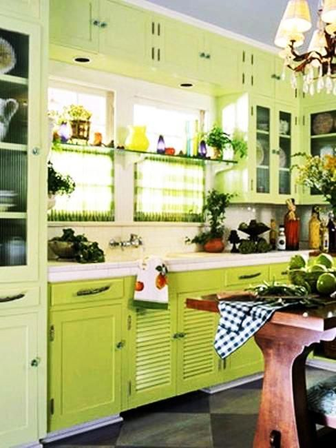 23 Best Fresh Green Kitchen Cabinets Ideas Images On