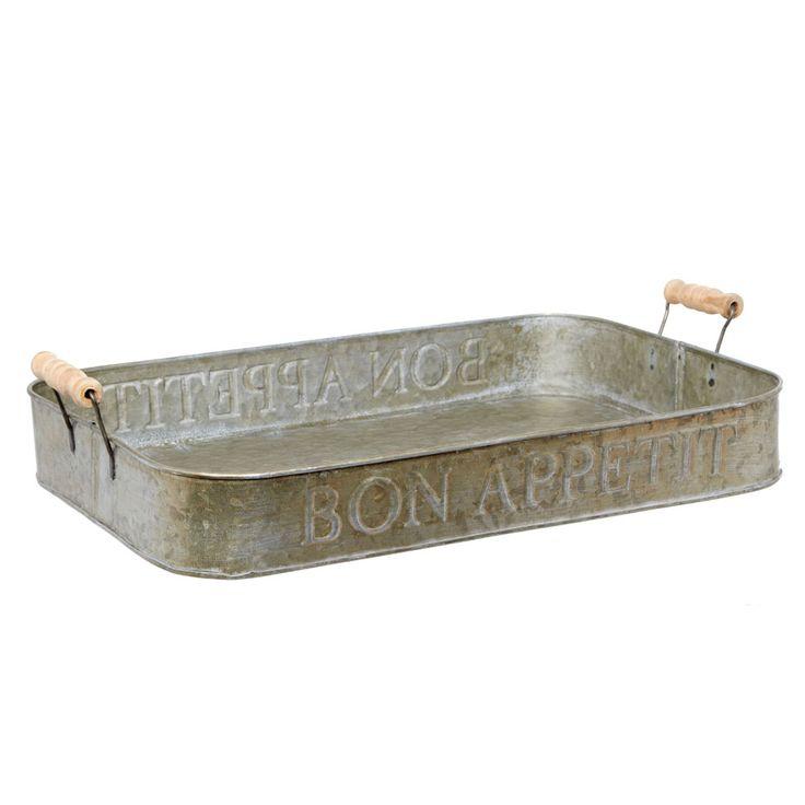 Bon Appetit zinc tray