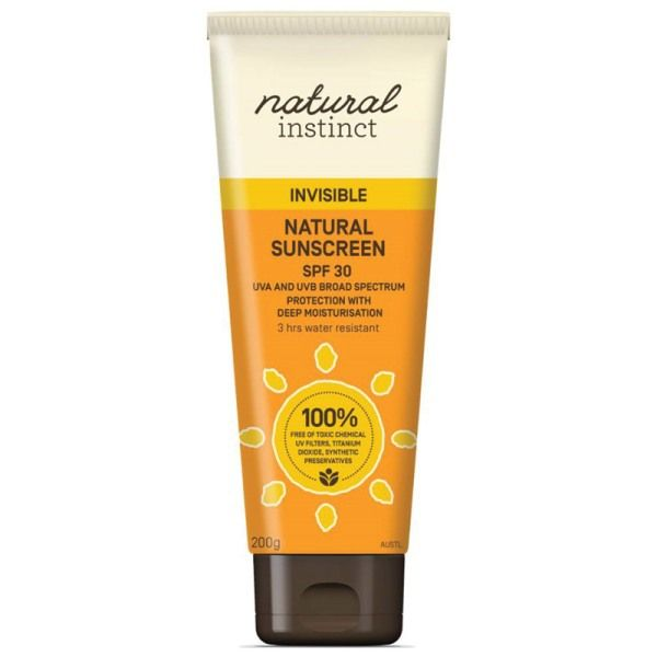 Natural Instinct Invisible Sunscreen - Hello Charlie