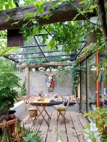 17 mejores ideas sobre jardines de patio trasero peque os for Amenagement toit terrasse