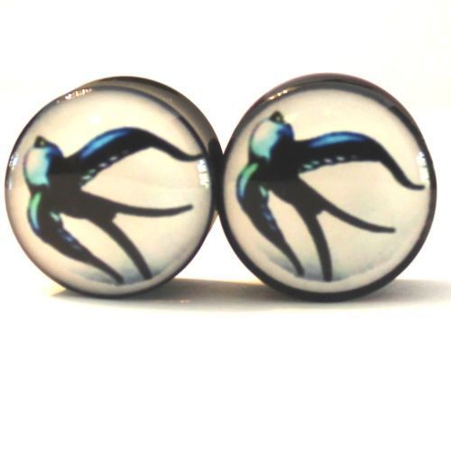 Find More Body Jewelry Information about Wholesale 20PCS/Lot SPARROW Acrylic Ear Gauges Ear Plugs Flesh Tunnels Double Saddle PLUGS  Mix 10 Sizes 6MM 25mm,High Quality plug usb,China saddle stirrups Suppliers, Cheap saddle bar from DreamFire Store on Aliexpress.com