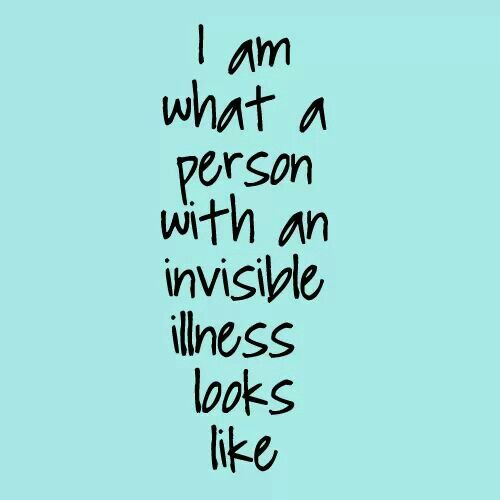 Invisible illness awareness