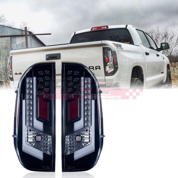 Winjet Oe Factory Fit For 2014 2019 Toyota Tundra Led Brake Tail Lights Clear Ebay Toyota Tundra 2014 Toyota Tundra Tundra