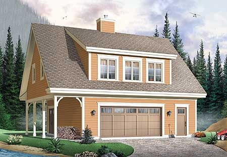 Detached Garage Plans With Bathroom - WoodWorking Projects