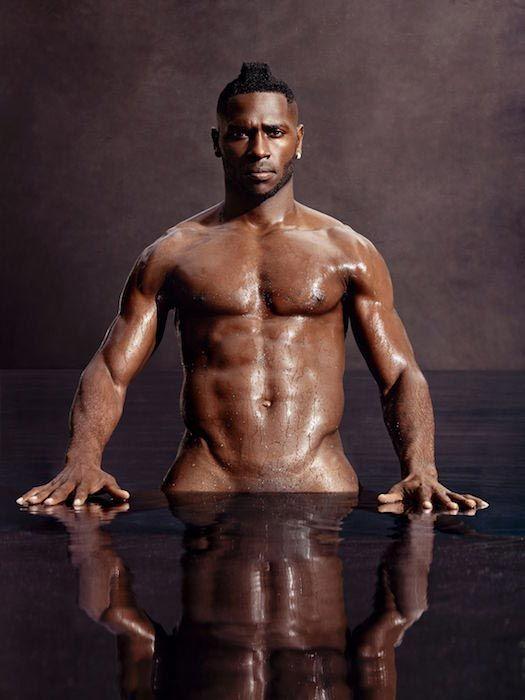 Antonio Brown shirtless body...