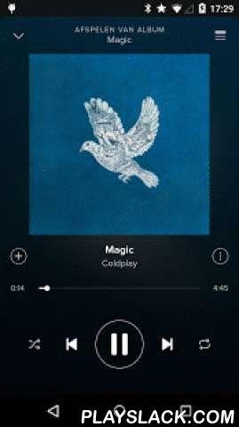 Spotify Music  Android App - playslack.com ,  Spotify is nu gratis beschikbaar op mobiel en tablet. Luister altijd naar de juiste muziek, waar je ook bent. Met Spotify krijg je toegang tot een wereld van muziek. Je kunt naar artiesten of albums luisteren, of een eigen afspeellijst maken met je favoriete nummers. Zin om nieuwe muziek te ontdekken? Kies een kant-en-klare afspeellijst die bij je stemming past of ontvang persoonlijke aanbevelingen.Gratis luisteren op je mobiel• Speel iedere…