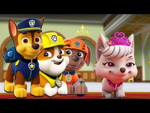Paw Patrol Mission Paw   Rescue Royal Crown New Episodes   Paw Patrol Ni...