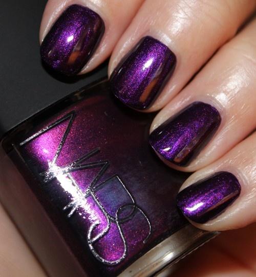 Purple Rain... i need thisPurple Nails Polish, Nails Art, Purple Rain, Nail Polish, The Colors Purple, Nailpolish, Colors Schemes, Dark Purple, Purplerain