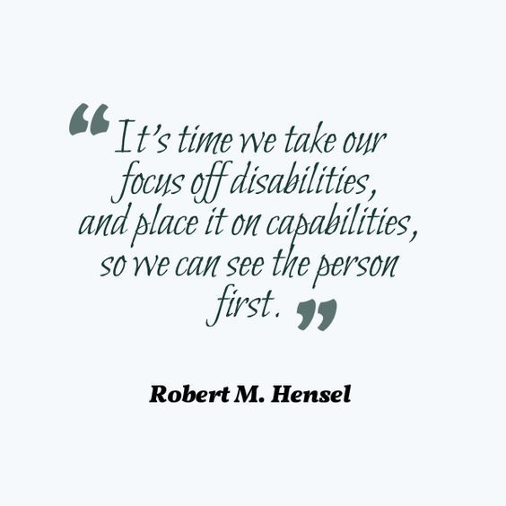 Special Needs Quotes: 19 Best Disability Quotes Images On Pinterest