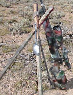 Varmint Al's Bi-Fur-Pod. DIY shooting stick instructions for a bi-pod that can be turned into a shooting stick for standing shots!