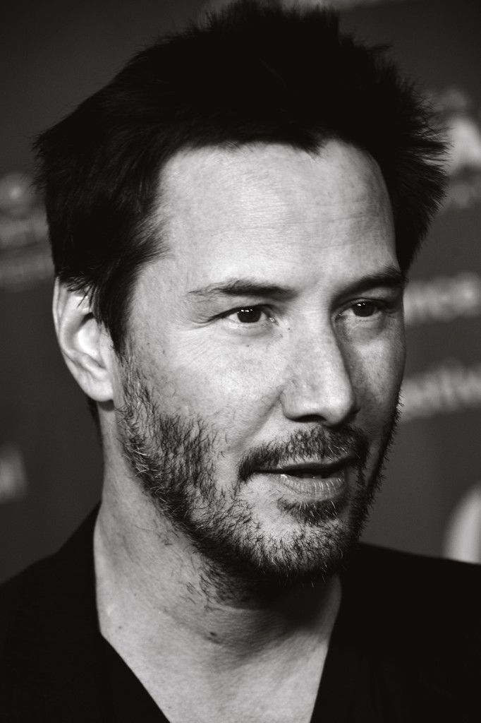 "Keanu Reeves Photos Photos - Image has been converted to black and white.) Keanu Reeves attends the ""Knock Knock"" Premiere - 2015 Sundance Film Festival on January 23, 2015 in Park City, Utah. - ""Knock Knock"" Premiere - 2015 Sundance Film Festival"