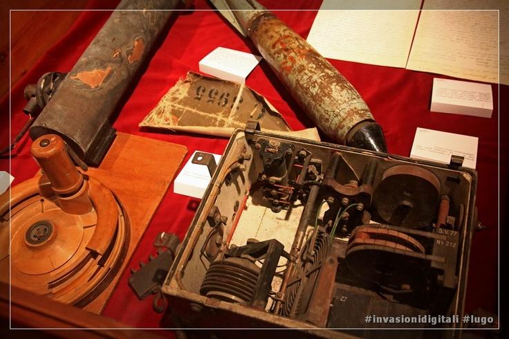 la ricetrasmittente Telefunken dei ricognitori aerei della prima guerra mondiale #invasionidigitali #lugo