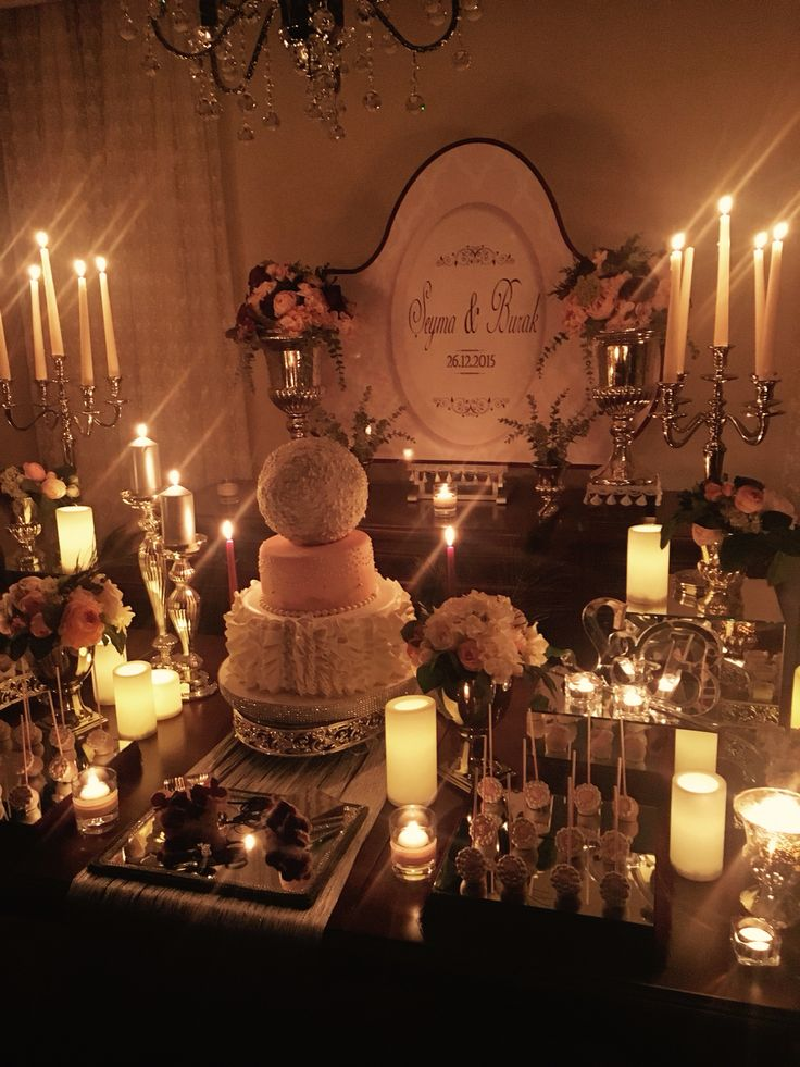 nişan engagement table