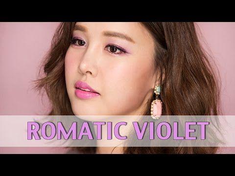 [박은지][Eng] 로맨틱.성공적 메이크업 ROMANTIC VIOLET Makeup - YouTube