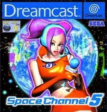 Old school video games: Space Channel 5