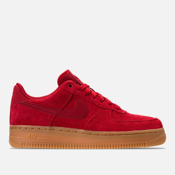 Nike Air Force 1 07 SE Wmns Gym Red Gum Light Brown