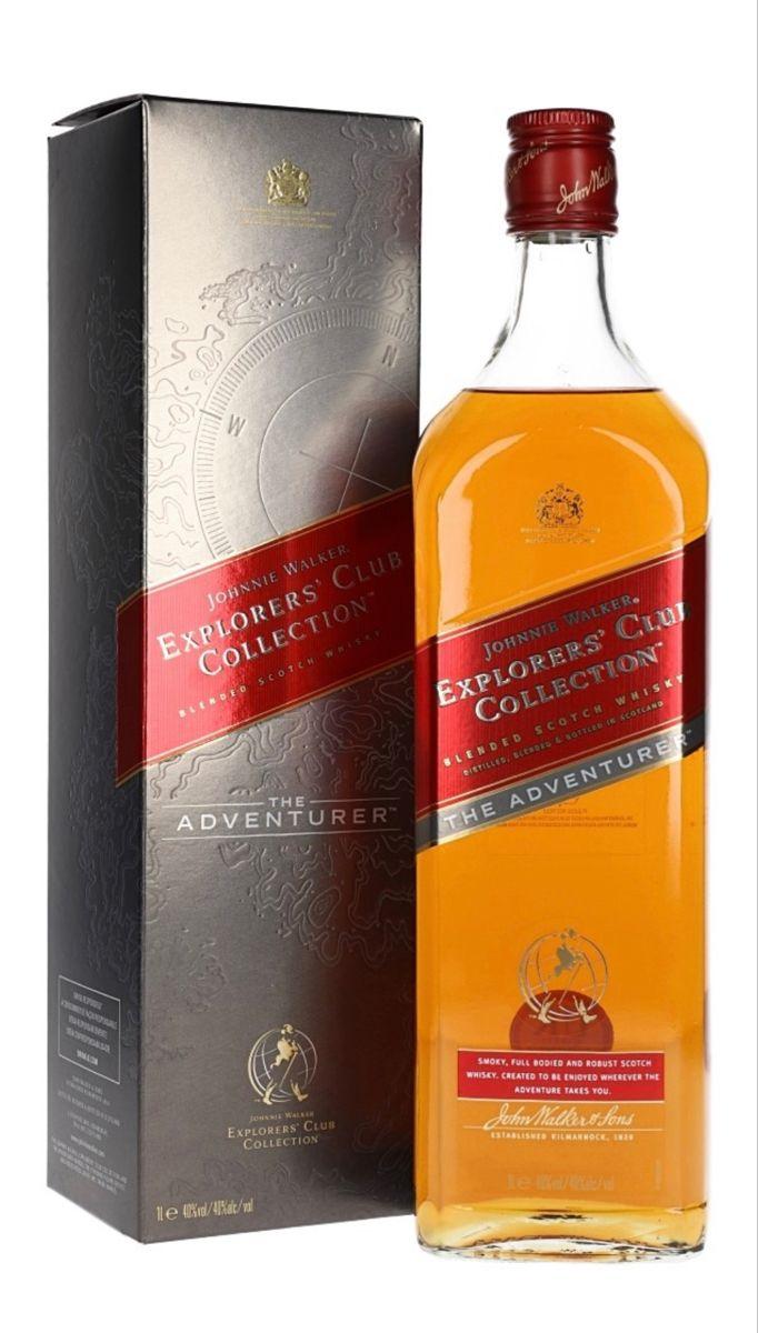 Johnnie Walker Adventurer Explorer S Club Collection Scotland In 2020 Whisky Collection Johnnie Walker Whisky
