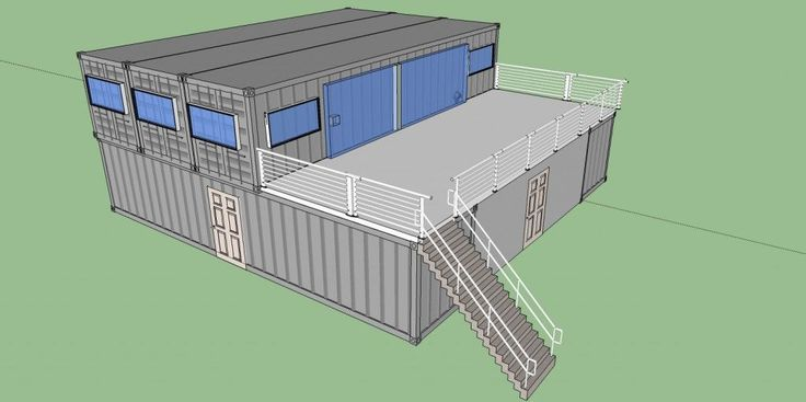 $25k Shipping Container Home