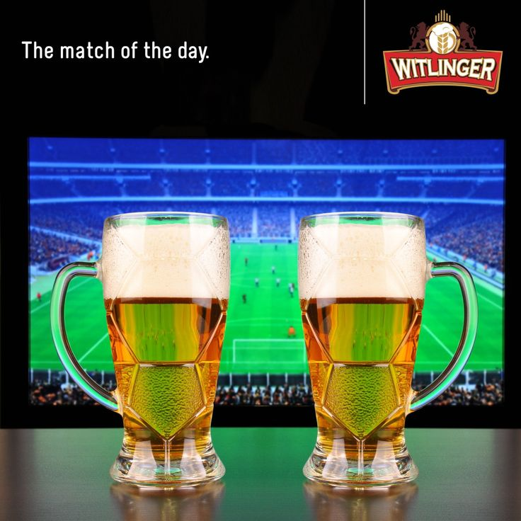 Double the joy of watching your favourite team's match with your favourite beer. Nothing could get better than this. Wanna bet? #Witlingerbeer #Wheatbeer #Craftbeer