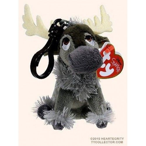 Ty Frozen Sven Beanie Clip - 3  Ty Frozen Sven #Beanie #Clip - 3 Features : Approximately 4 inches *Attached plastic clip perfect for eye chains, backpacks, purses and more! *Handmade with the finest quality standards in the industry *Collect them all