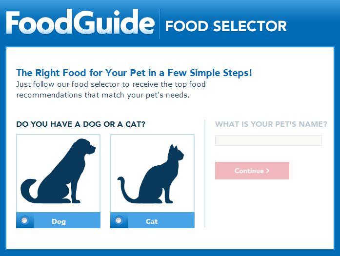 Petsmart Dog Food Selector
