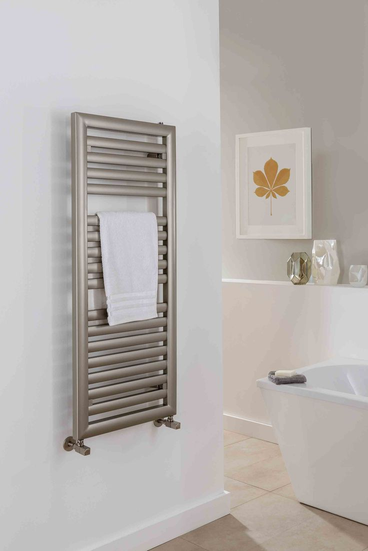 The Radiator Company introduce the new Pulsar Designer Heated Towel Rail, with its elegant italian design and manufacture, this vertical ladder rail can fit among any modern bathroom. Available in White RAL9016 as standard, other RAL colours are availble if wanted, please call us on 01452 883828 or email us on sales@warmrooms.co.uk to discuss further. Completed with a 10 year guarantee. Priced from £234.24