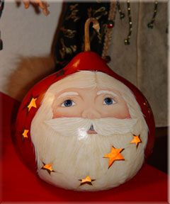 free images to paint on gourds | Hand-painted gourds by local artist Cheryl Redding