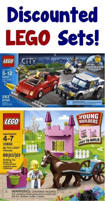 Discounted LEGO Sets! at TheFrugalGirls.com #lego #legocity #legocreator #legofriends