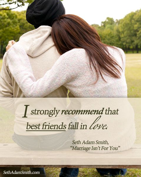 "What is the best marriage advice you ever received? For author Seth Adam Smith, it was the advice from his father, who said, ""Marriage isn't for you. It's about the person you marry."" These few words completely change the way Seth looked at his relationship with his wife."