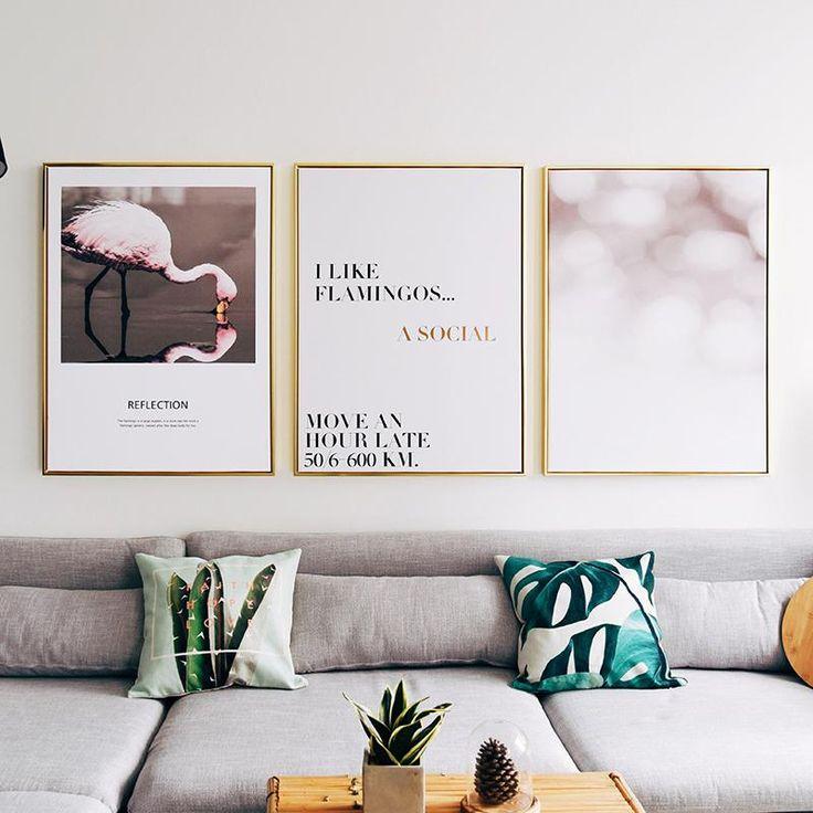 400 best 3PCS combination wall canvas images on Pinterest | Canvas ...