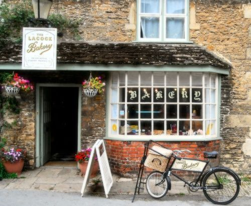 Village Shop, Lacock, Wiltshire