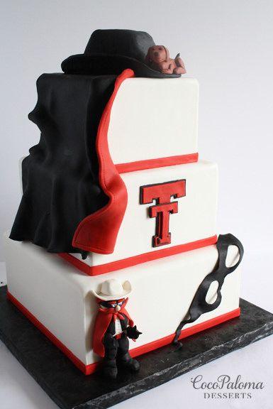 https://flic.kr/p/tGGXER | Texs Tech Cake.  ©Coco Paloma Desserts.