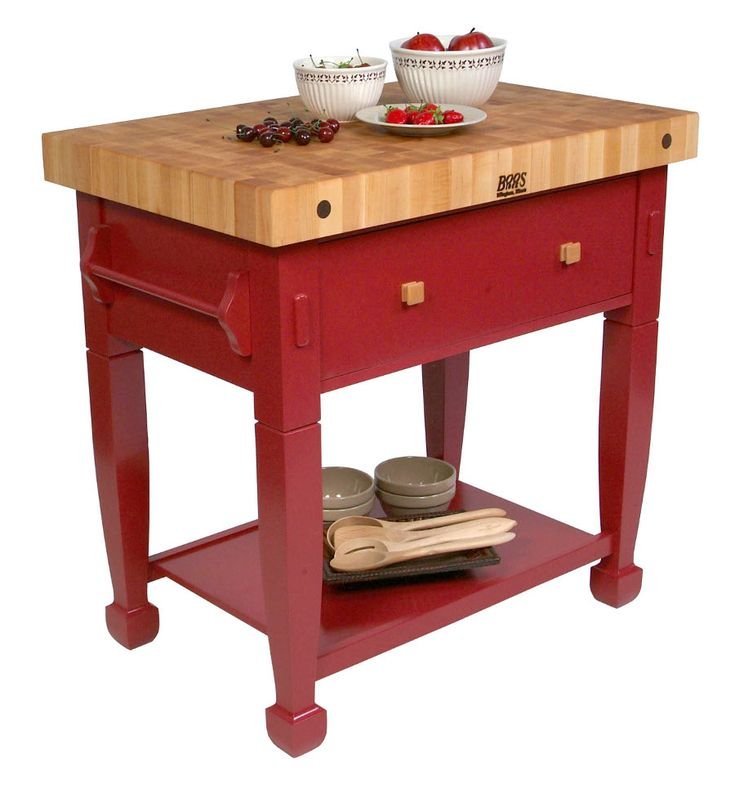 The John Boos Jasmine Block Is A Tremendous Multi Purpose Island For Your  Kitchen. With Your Choice Of 12 Vibrant Base Colors, This Classic Island  From John ...