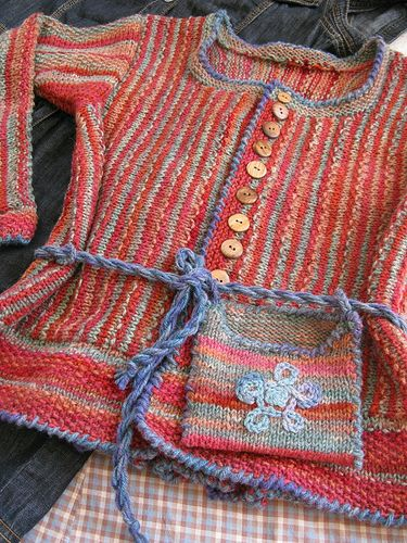 Sweater handmade in Finland